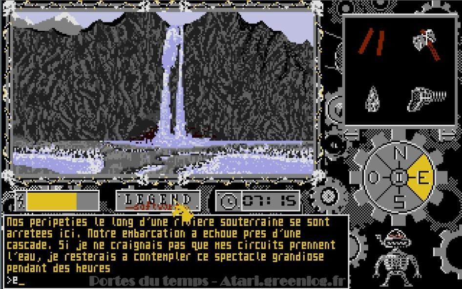 Les portes du temps : Impression d'écran 44