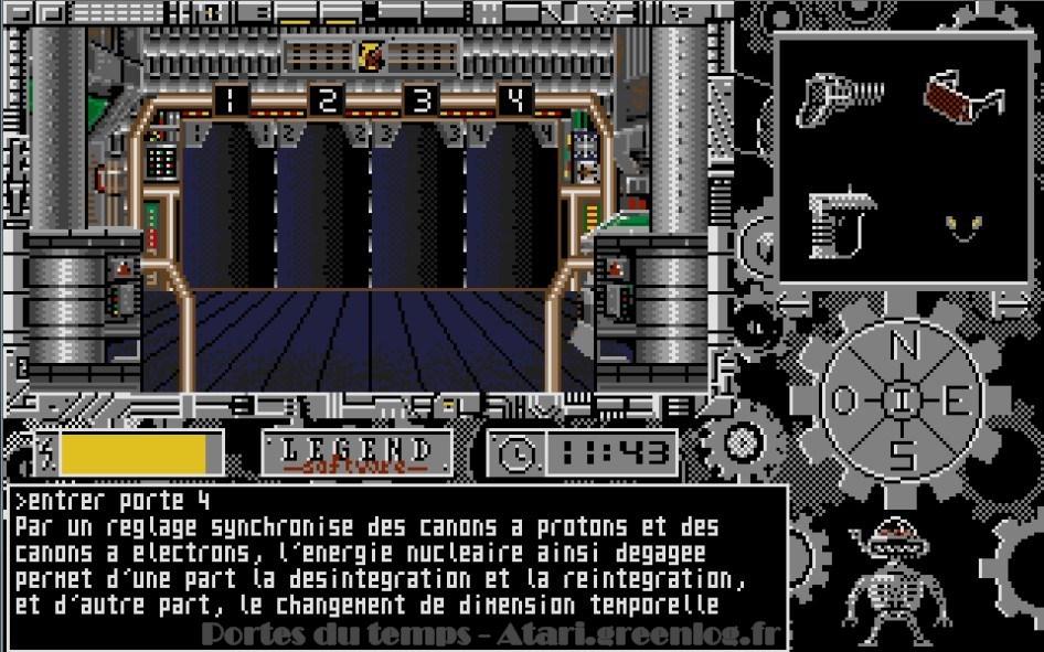 Les portes du temps : Impression d'écran 6