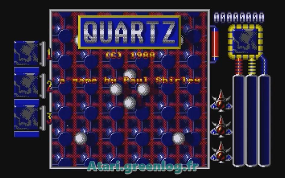 Quartz : Impression d'écran 2