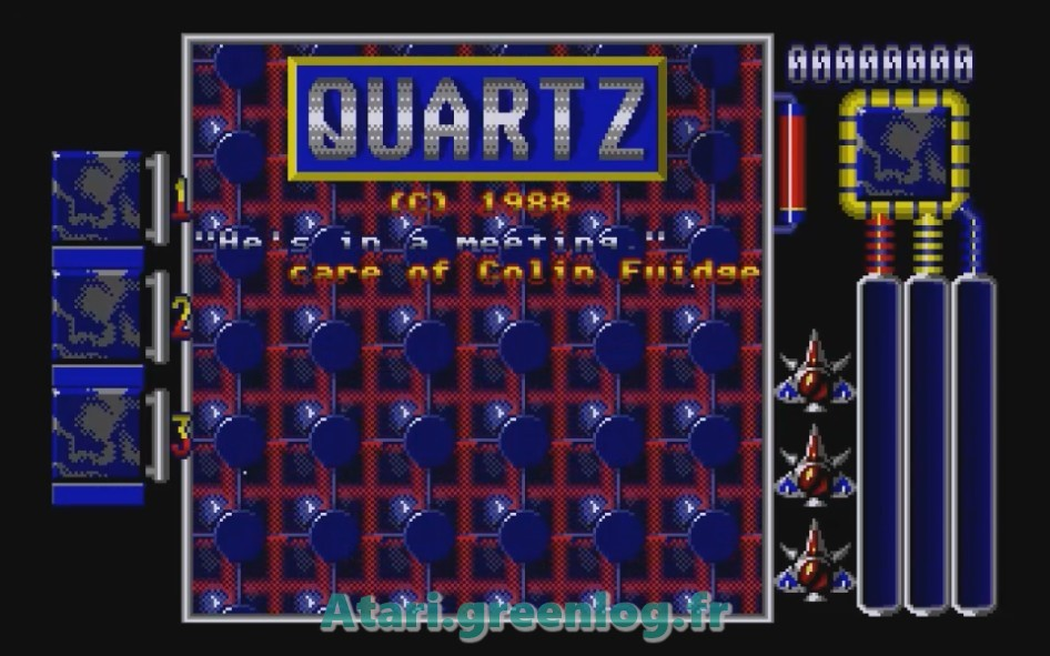 Quartz : Impression d'écran 3