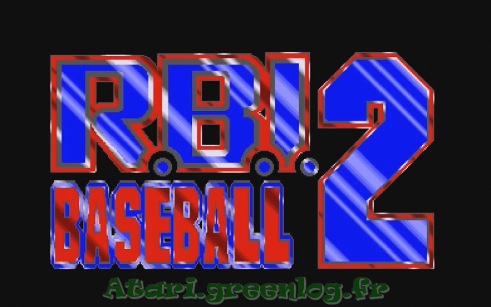 RBI Baseball 2 : Impression d'écran 2