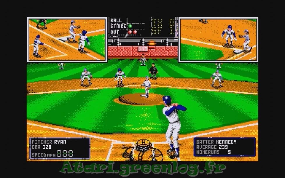 RBI Baseball 2 : Impression d'écran 14