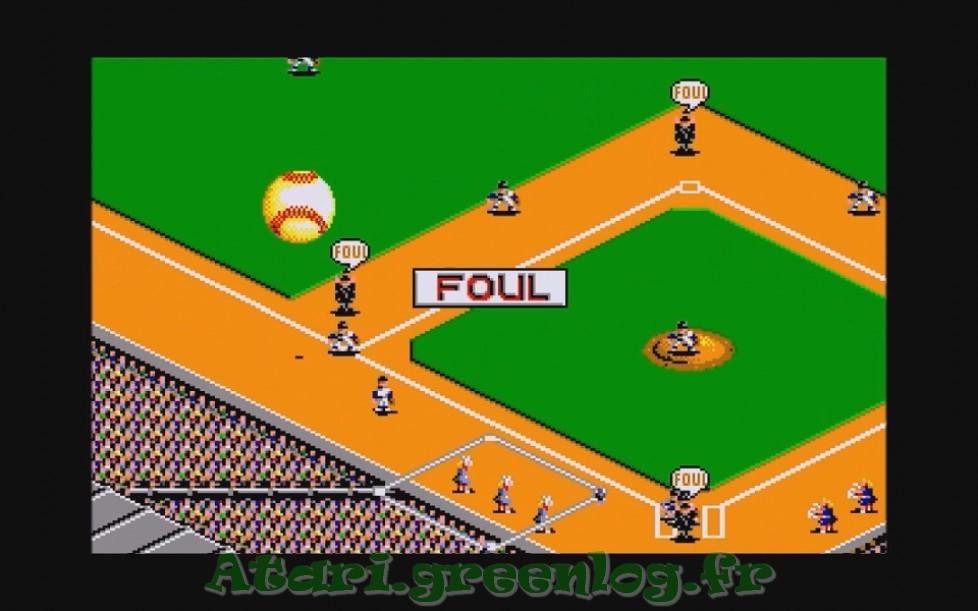 RBI Baseball 2 : Impression d'écran 19