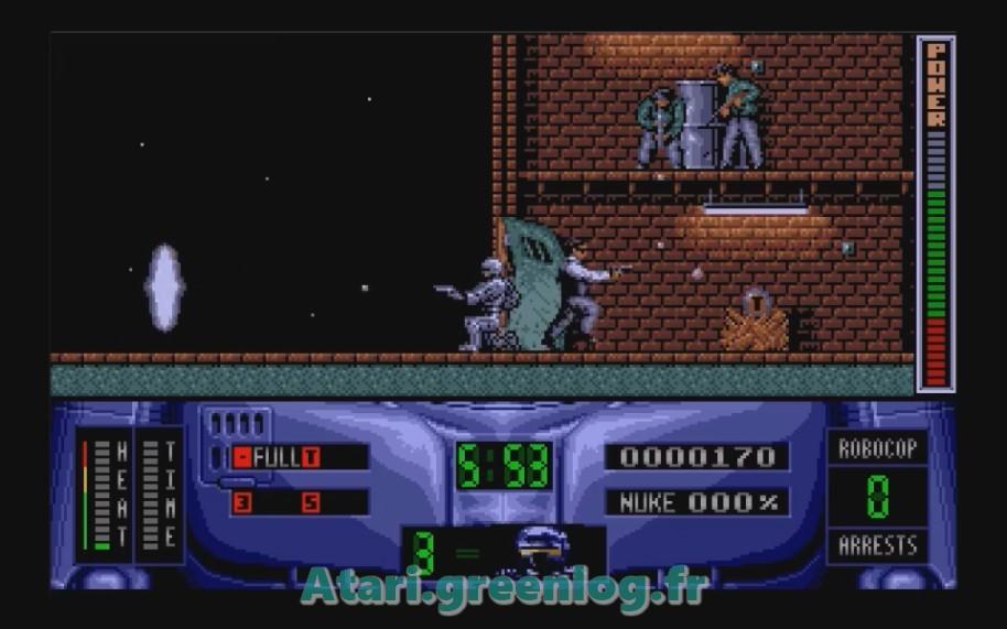 Robocop 2 : Impression d'écran 5