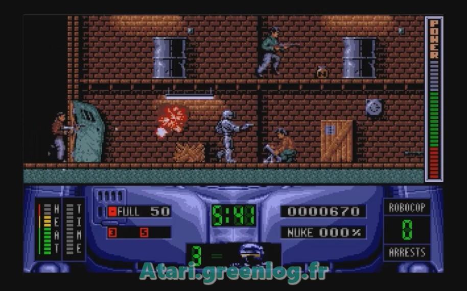 Robocop 2 : Impression d'écran 6