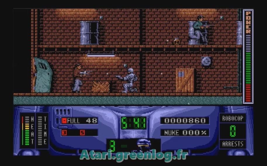 Robocop 2 : Impression d'écran 7