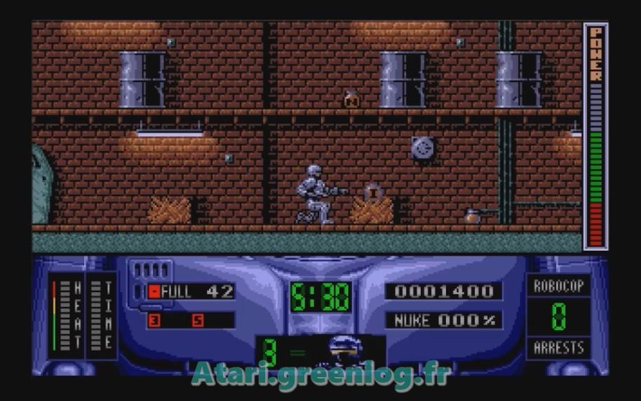 Robocop 2 : Impression d'écran 8
