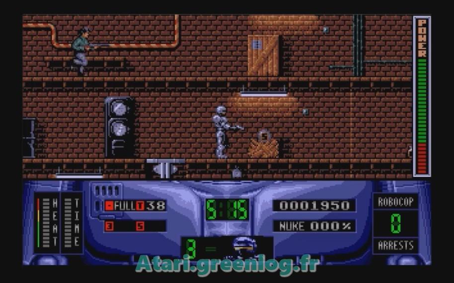 Robocop 2 : Impression d'écran 9