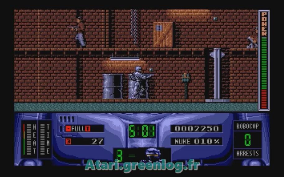 Robocop 2 : Impression d'écran 10