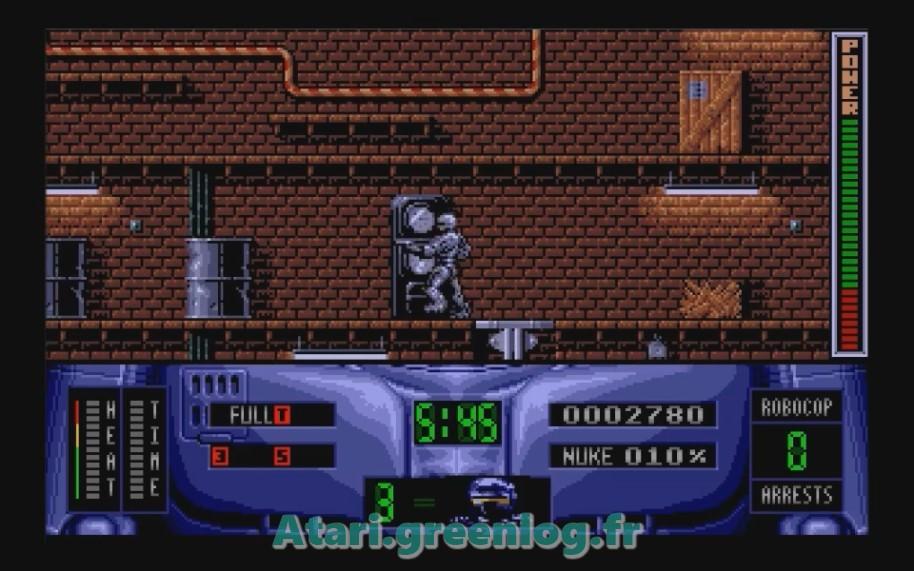 Robocop 2 : Impression d'écran 12
