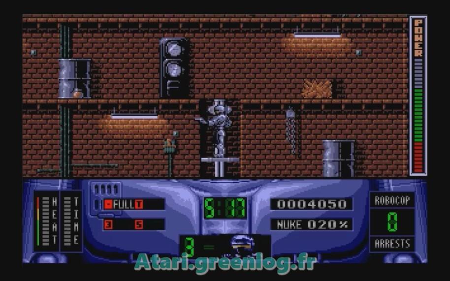 Robocop 2 : Impression d'écran 13