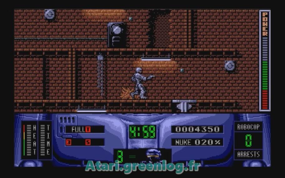 Robocop 2 : Impression d'écran 14