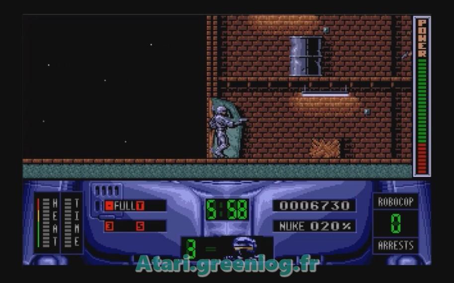 Robocop 2 : Impression d'écran 17