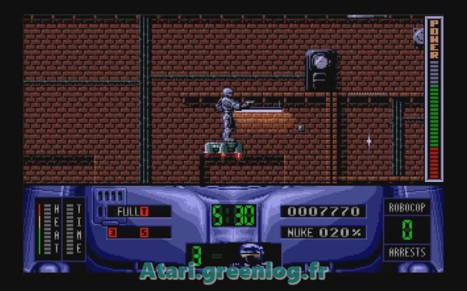 Robocop 2 : Impression d'écran 19