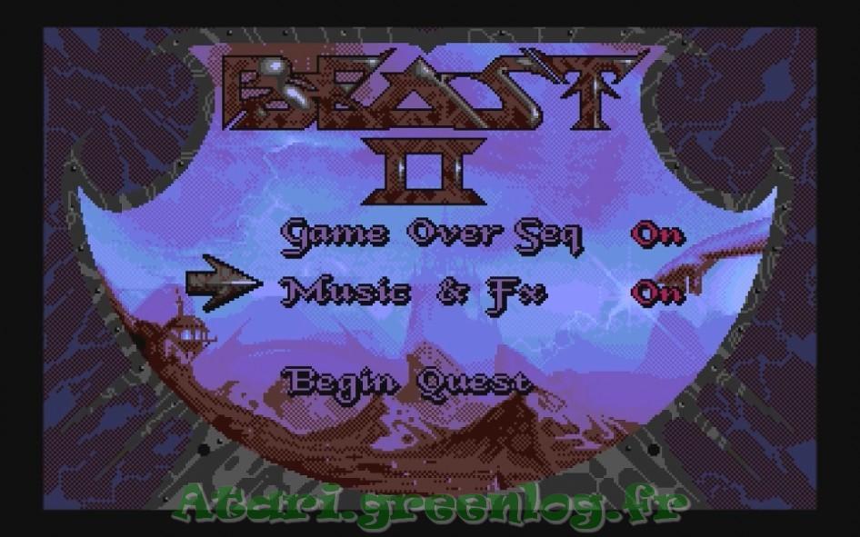 Shadow of the beast 2 : Impression d'écran 16
