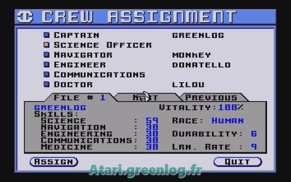 Starflight : Impression d'écran 16