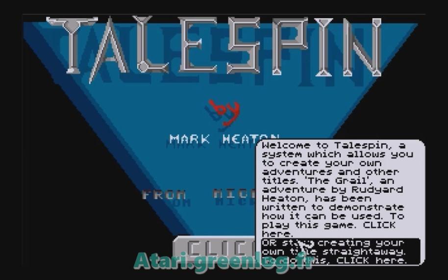 Talespin : Impression d'écran 2