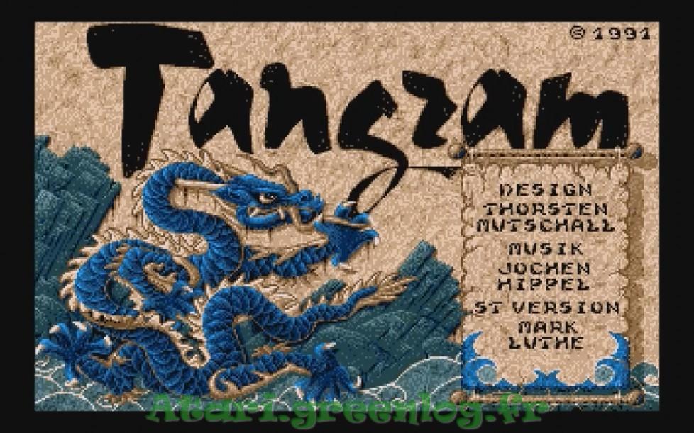 Tangram : Impression d'écran 6