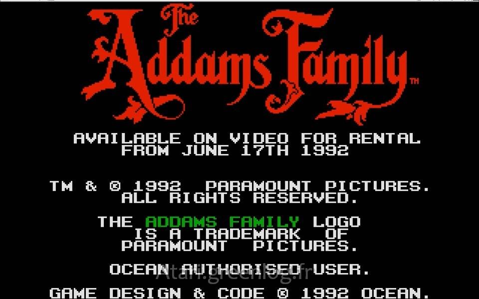 La famille Adams (Addams Family)