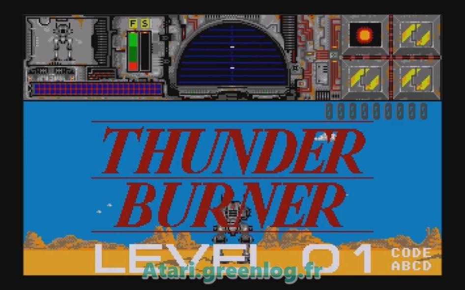 Thunder Burner : Impression d'écran 2