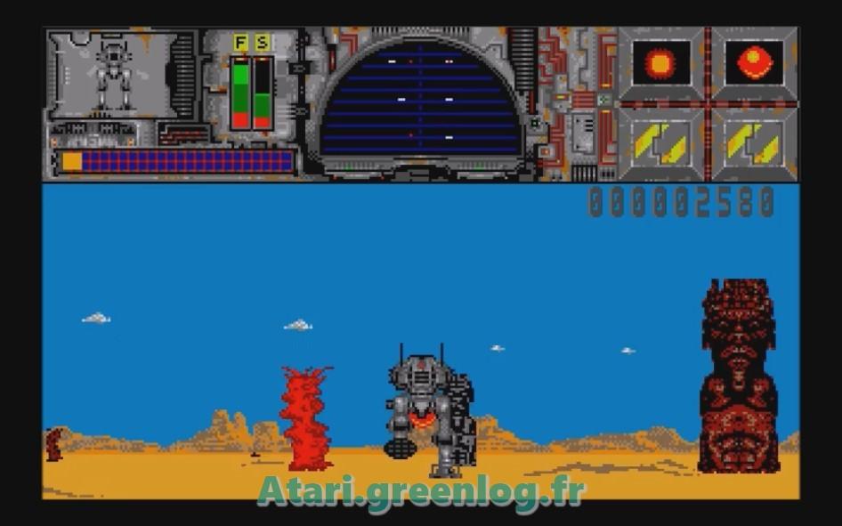 Thunder Burner : Impression d'écran 3