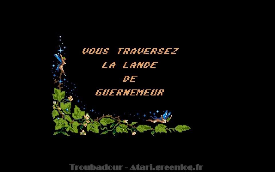 Troubadours : Impression d'écran 19