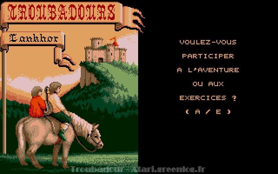 Troubadours : Impression d'écran 3