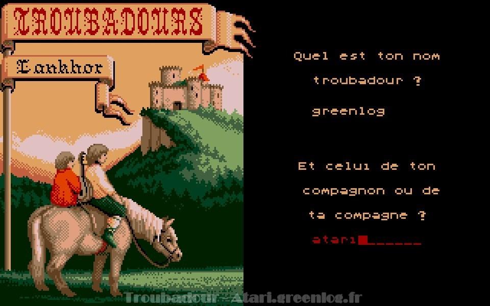 Troubadours : Impression d'écran 4