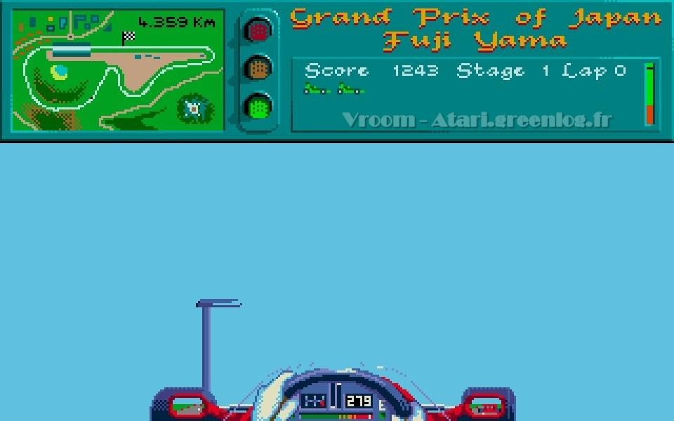 Vroom : Une F1 volante