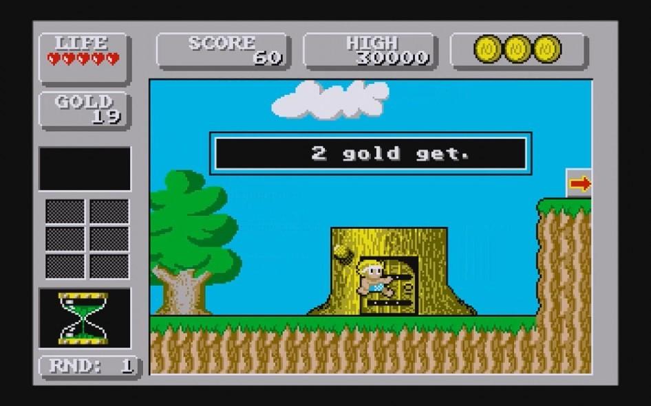 Wonderboy in Monsterland : Impression d'écran 2
