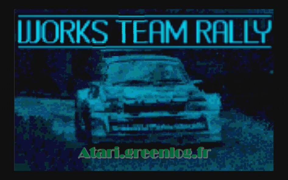 Works Team Rally