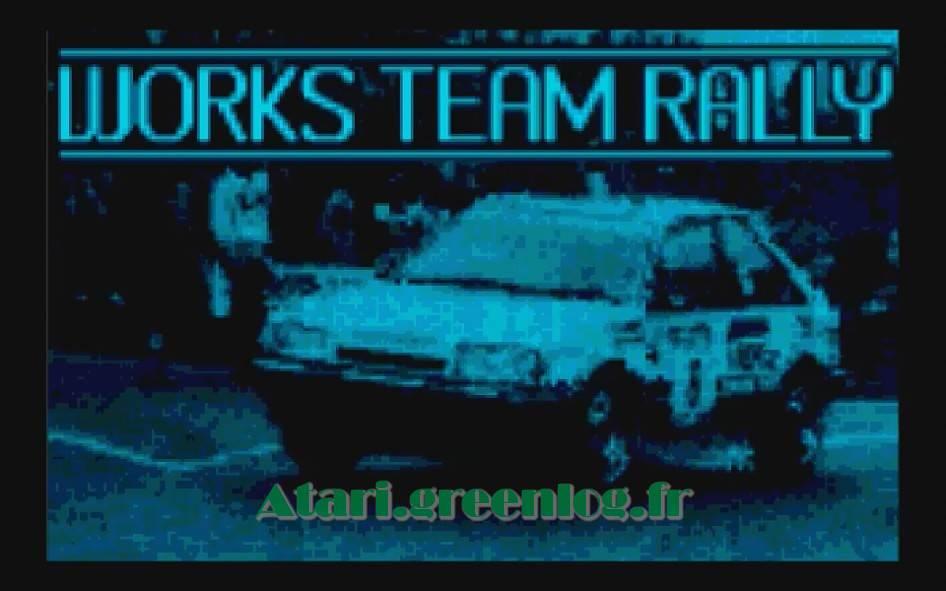 Works Team Rally : Impression d'écran 4