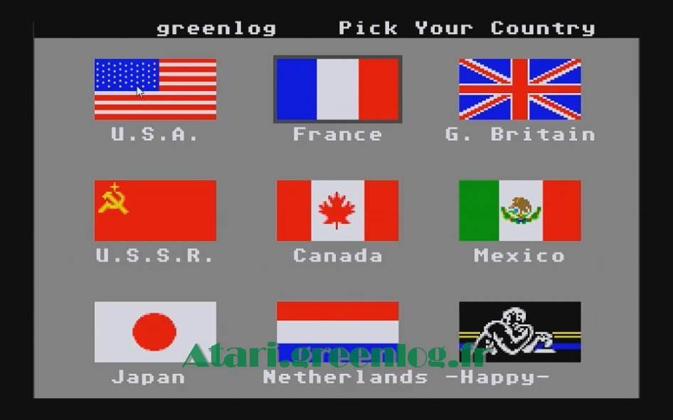 World Games : Impression d'écran 3