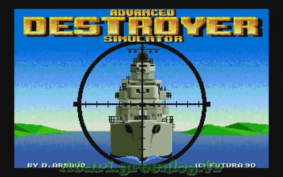 Advanced destroyer simulator