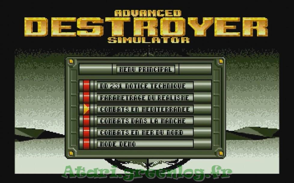 Advanced destroyer simulator : Impression d'écran 3