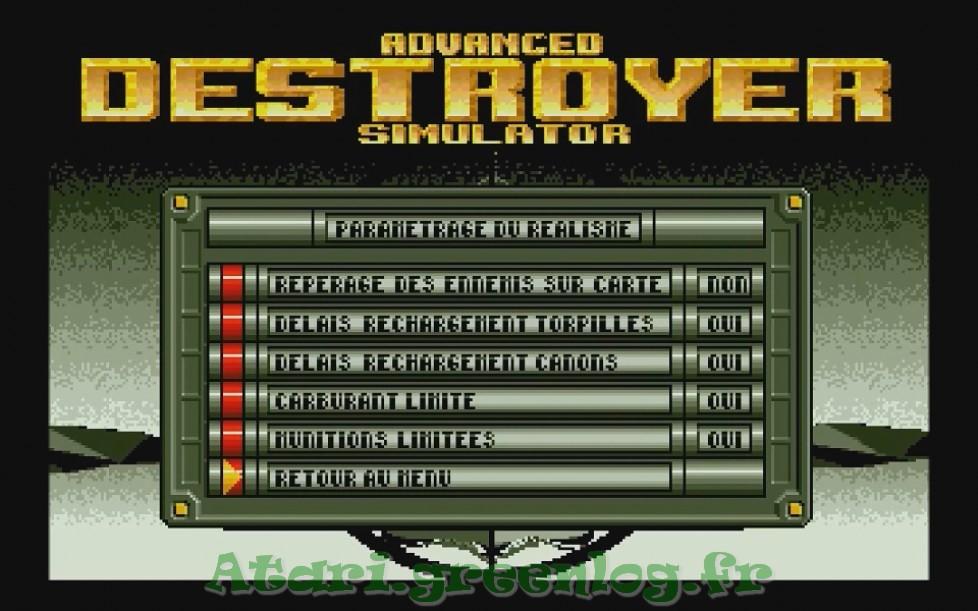 Advanced destroyer simulator : Impression d'écran 4