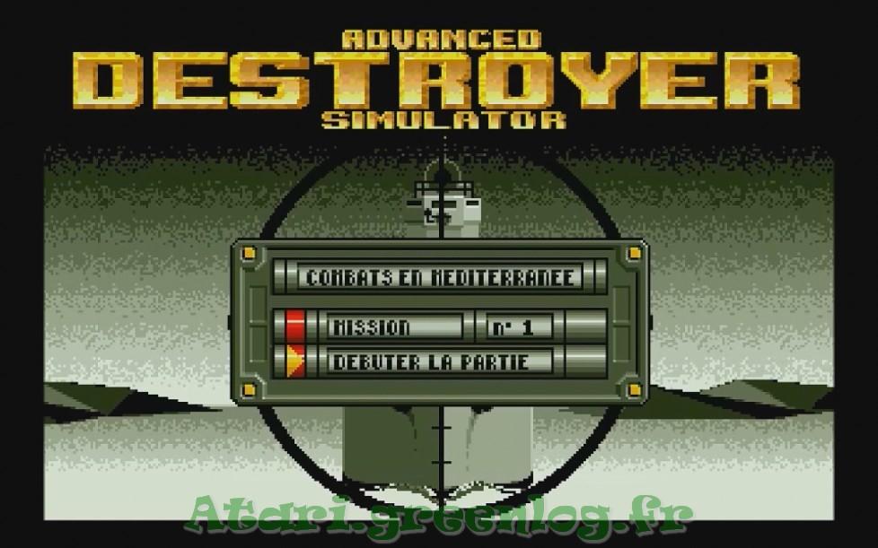 Advanced destroyer simulator : Impression d'écran 5