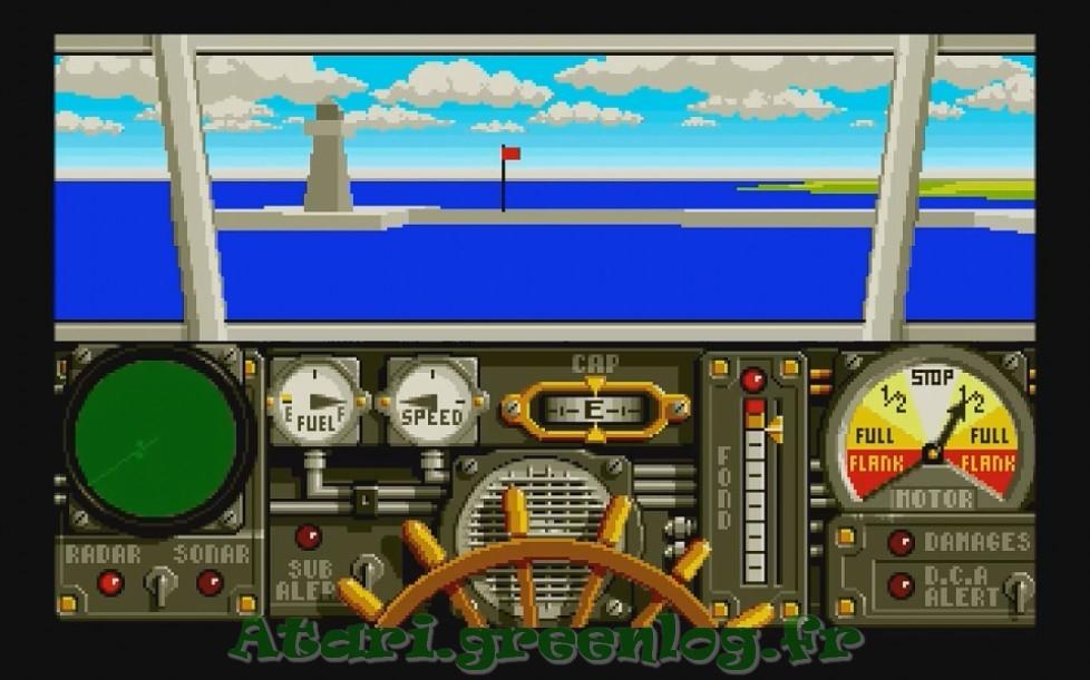 Advanced destroyer simulator : Impression d'écran 7