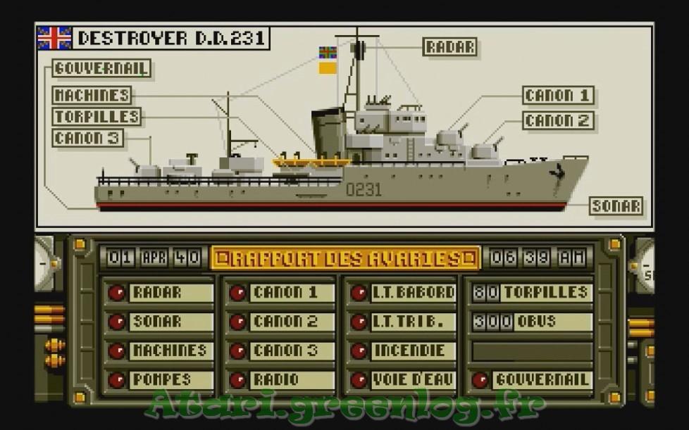 Advanced destroyer simulator : Impression d'écran 17