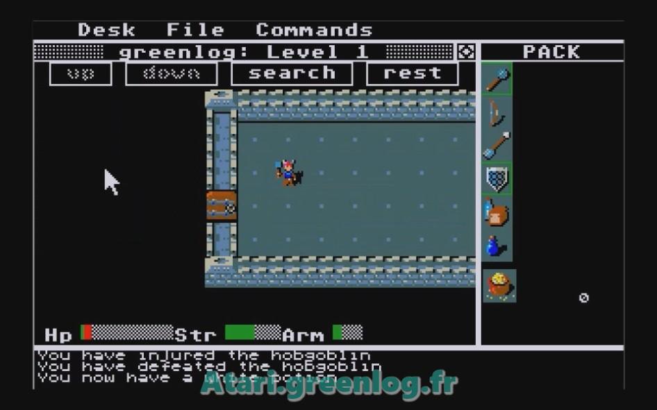 Rogue : Impression d'écran 3