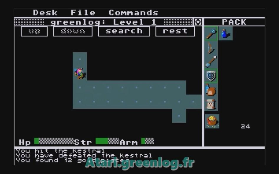 Rogue : Impression d'écran 9