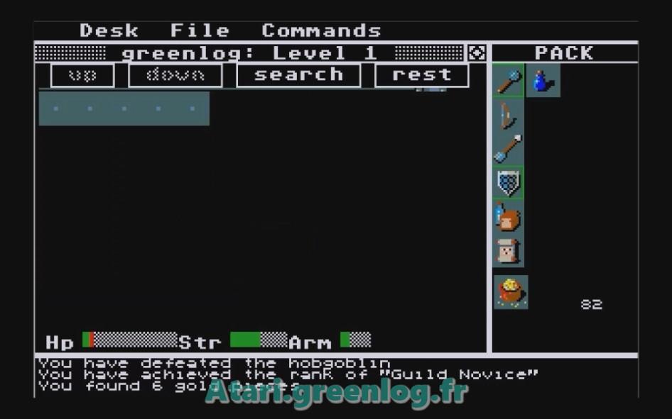 Rogue : Impression d'écran 10