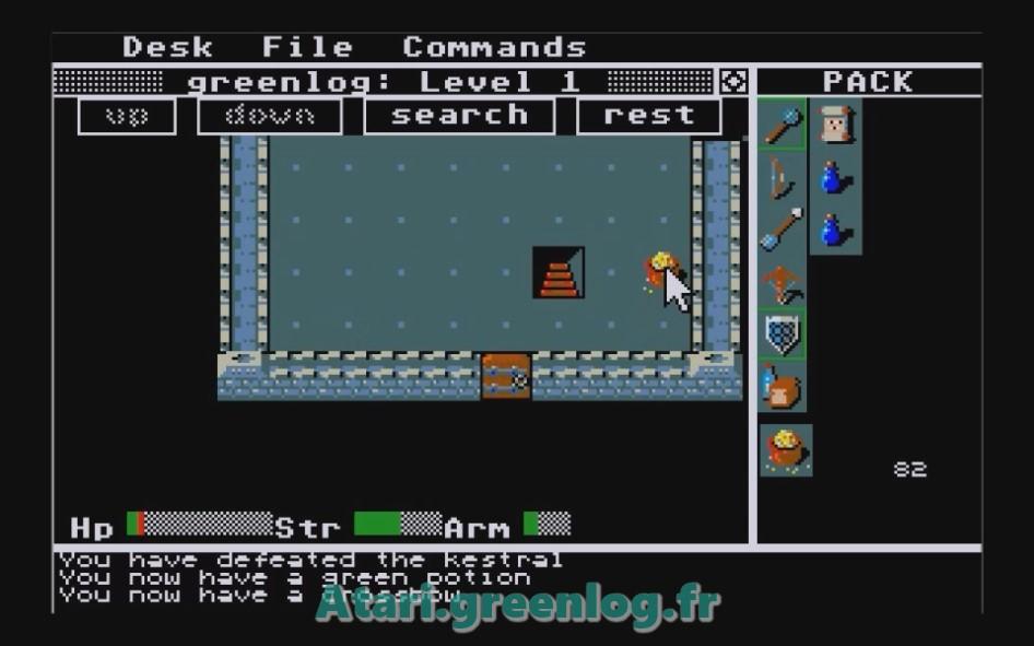Rogue : Impression d'écran 11