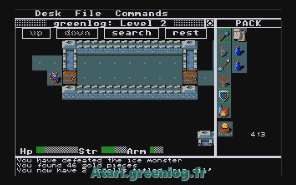 Rogue : Impression d'écran 14