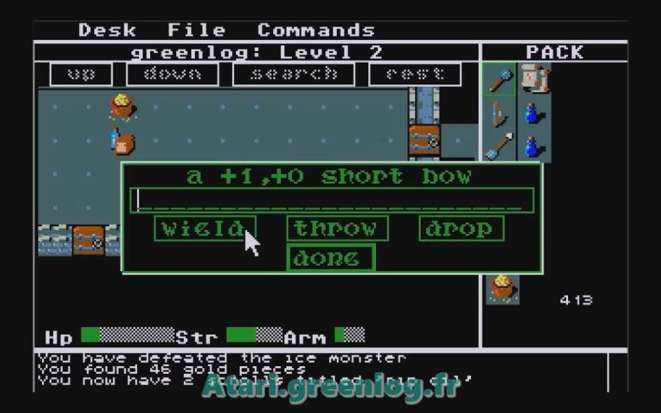 Rogue : Impression d'écran 16