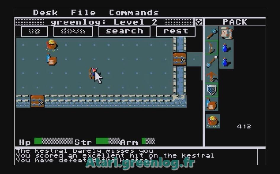 Rogue : Impression d'écran 17