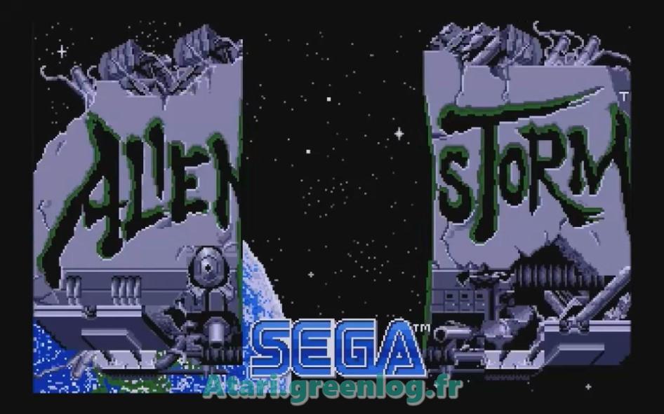 Alien Storm : Impression d'écran 1
