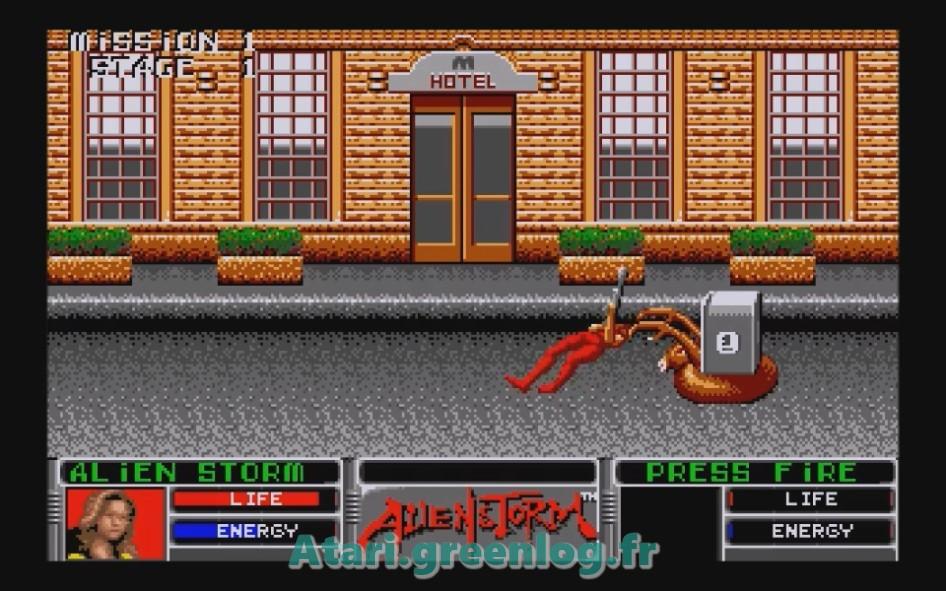 Alien Storm : Impression d'écran 5