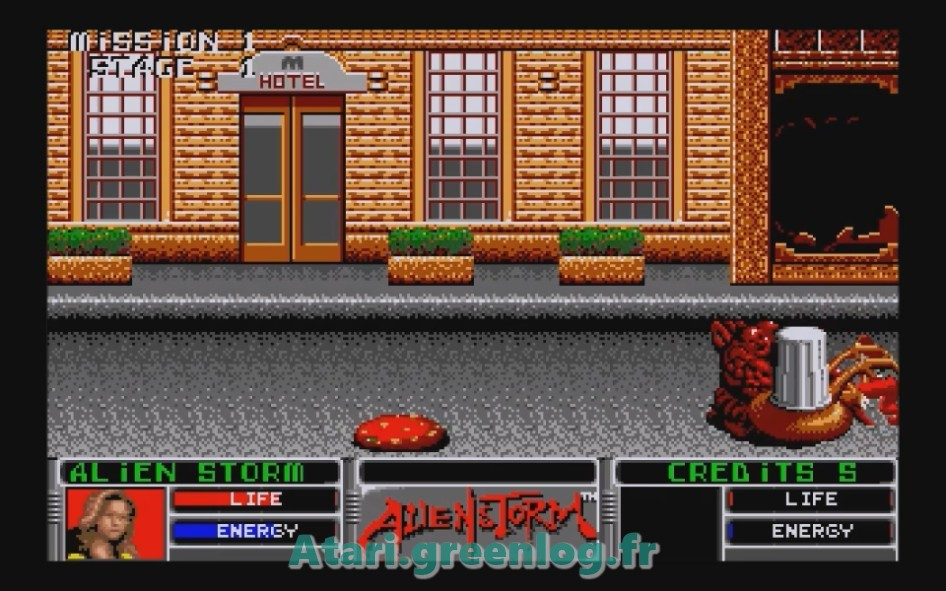 Alien Storm : Impression d'écran 6
