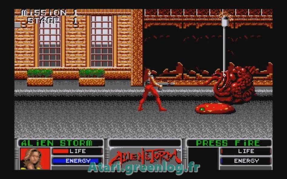 Alien Storm : Impression d'écran 7